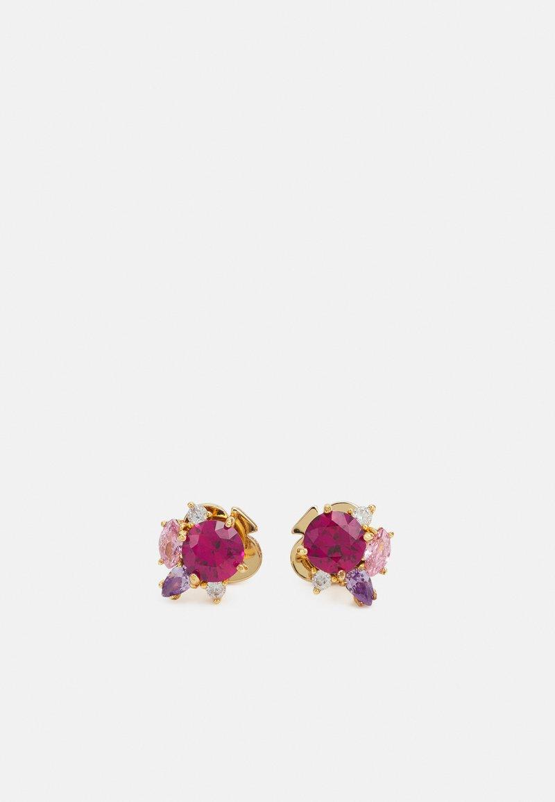 kate spade new york - CLUSTER STUDS - Earrings - pink/multi