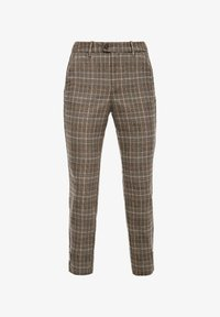 s.Oliver - Trousers - brown check - 6