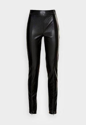 CARRIE SLIT  - Leggingsit - black