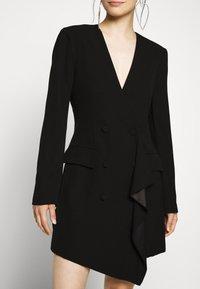 BCBGMAXAZRIA - EVE SHORT DRESS - Etuikjole - black - 7