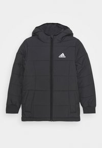 adidas Performance - PADDING ATHLETICS SPORTS MIDWEIGHT JACKET - Winterjacke - black/white - 0