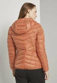 TOM TAILOR DENIM - Light jacket - dull coral - 2