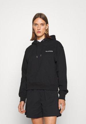 BULKY HOODIE - Sweatshirt - black logo