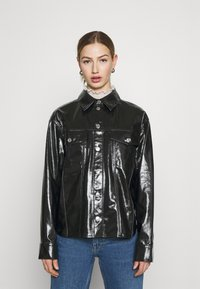 Weekday - KEISHA  - Button-down blouse - black - 0