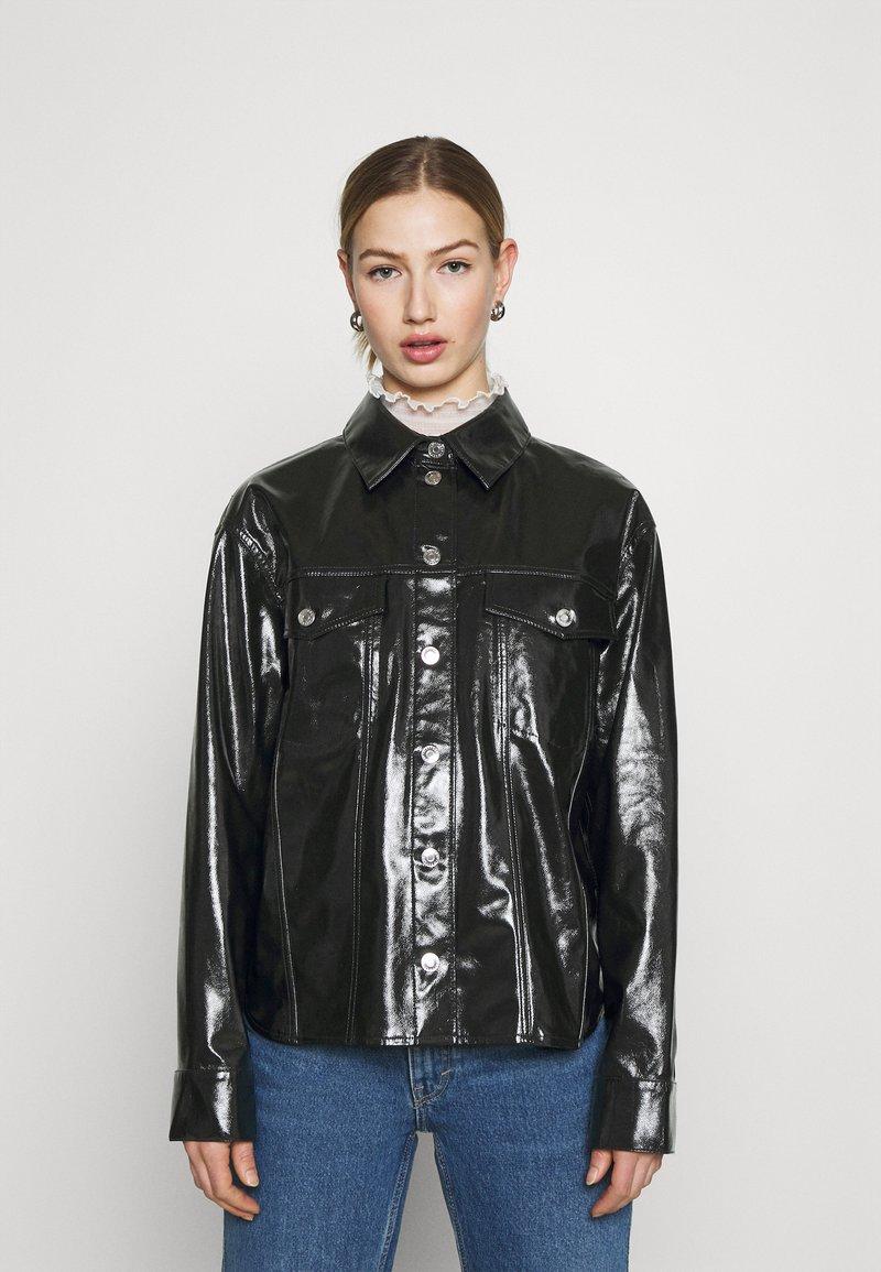 Weekday - KEISHA  - Button-down blouse - black