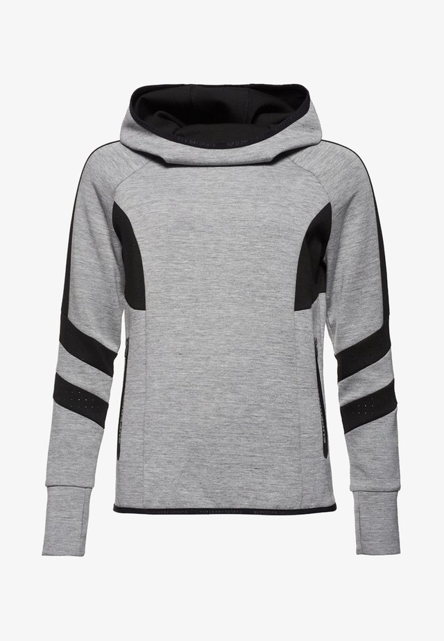 Hoodie - gris chiné city
