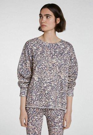 Sweatshirt - white black