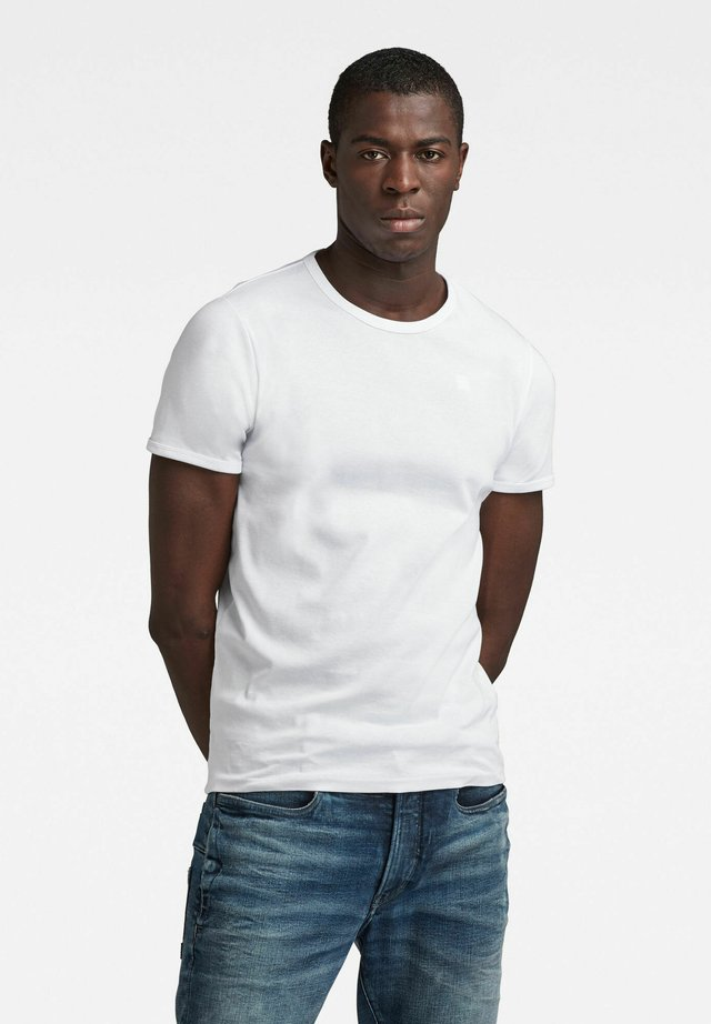 T-shirt basic - white/mazarine blue