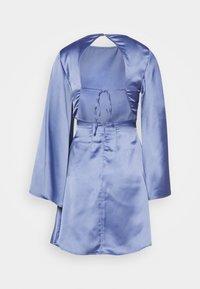 NU-IN - OPEN BACK MINI DRESS - Robe de soirée - blue - 1