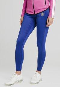 SIKSILK - Leggings - Trousers - blue - 0