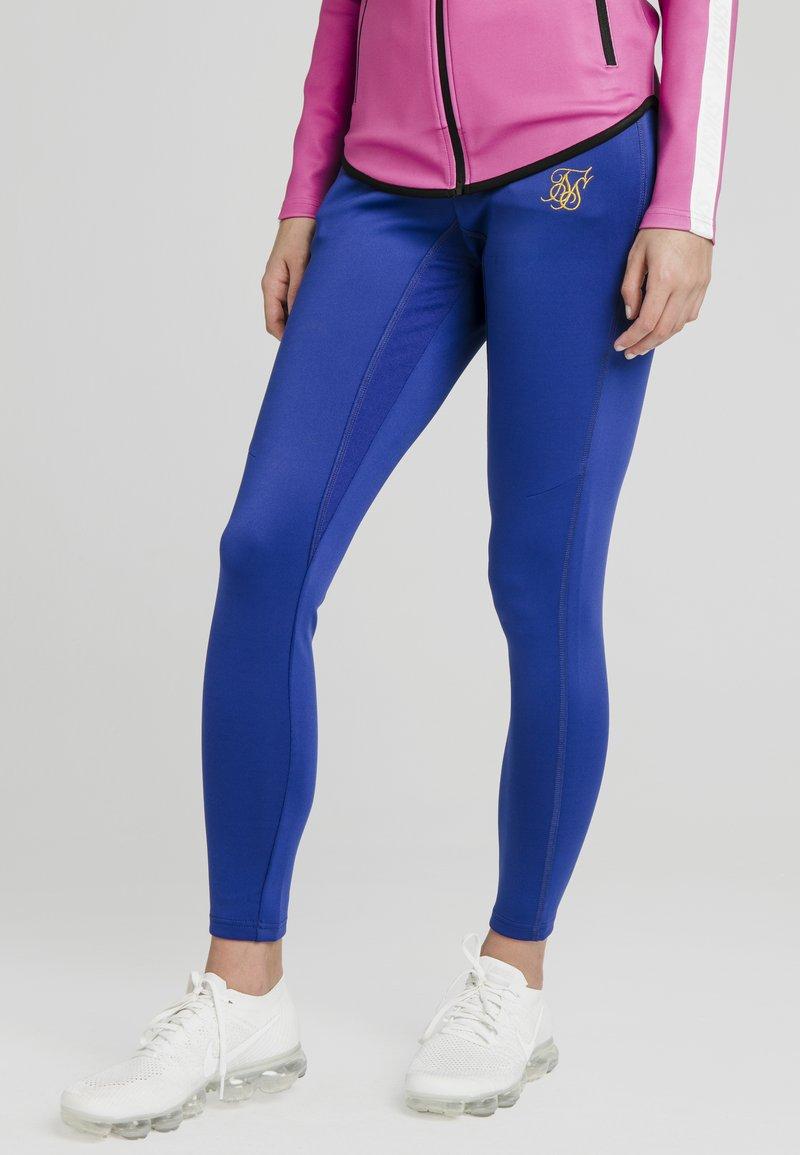 SIKSILK - Leggings - Trousers - blue