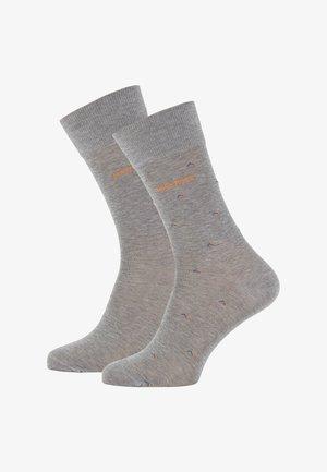2P RS MINIPATTERN MC - Socken - grey
