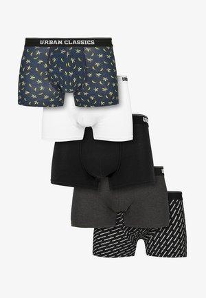 5PACK - Pants - ban.aop+brand.aop+chr+blk+wht