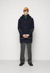 PS Paul Smith - MENS DUFFLE COAT - Classic coat - dark blue/grey - 1