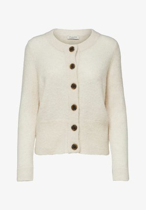 SLFSIA CARDIGAN - Cardigan - beige