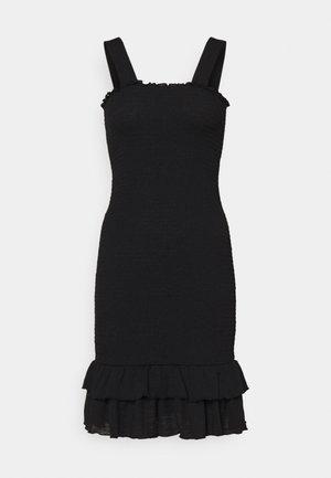 PCTAYLIN SMOCK DRESS - Day dress - black