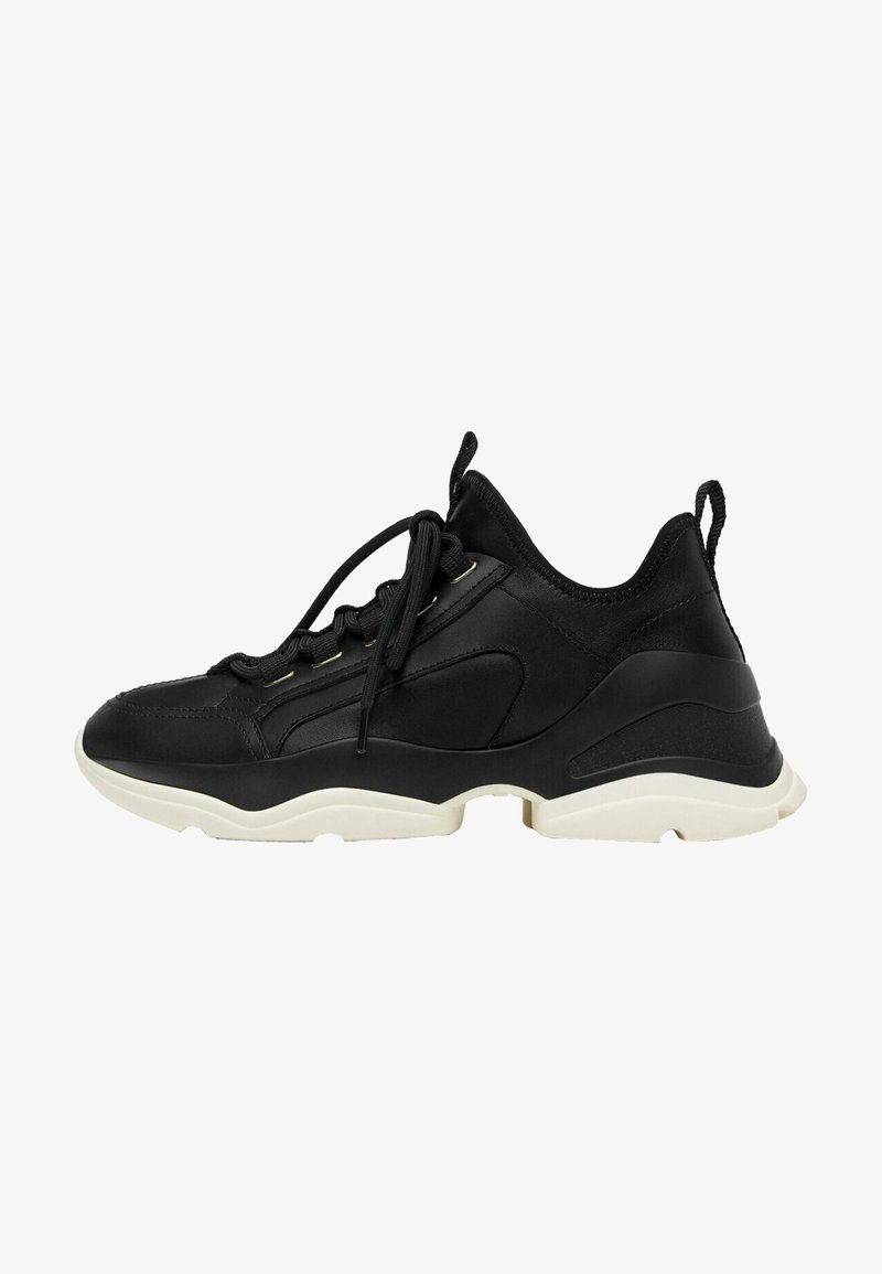 Uterqüe - Sneakers laag - black