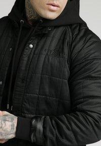 SIKSILK - FARMERS JACKET - Giacca da mezza stagione - black - 4