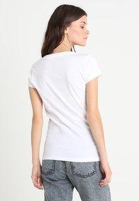 Replay - 2 PACK - Basic T-shirt - white/black - 2