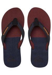 Quiksilver - T-bar sandals - black/grey/brown - 0