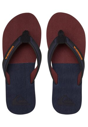 T-bar sandals - black/grey/brown