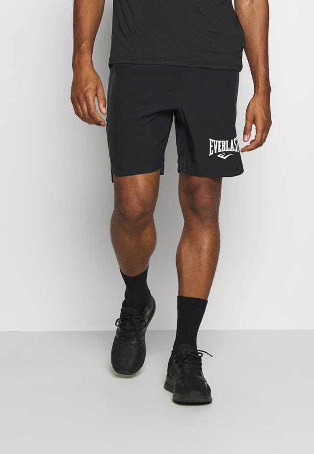 SHORTS CRISTAL - Sportovní kraťasy - black