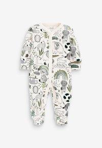 Next - 3 PIECE PACK ELEPHANT  - Sleep suit - green - 1