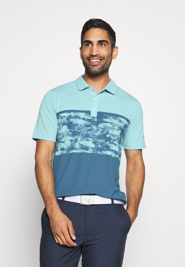 CAMOBLOCK - Polo shirt - milky blue