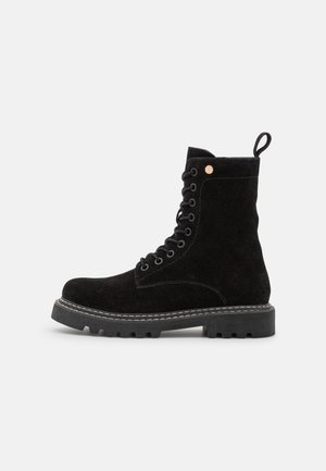 KOSFIRE - Lace-up ankle boots - black