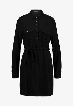 TAMMY LONG SLEEVE DRESS - Shirt dress - black