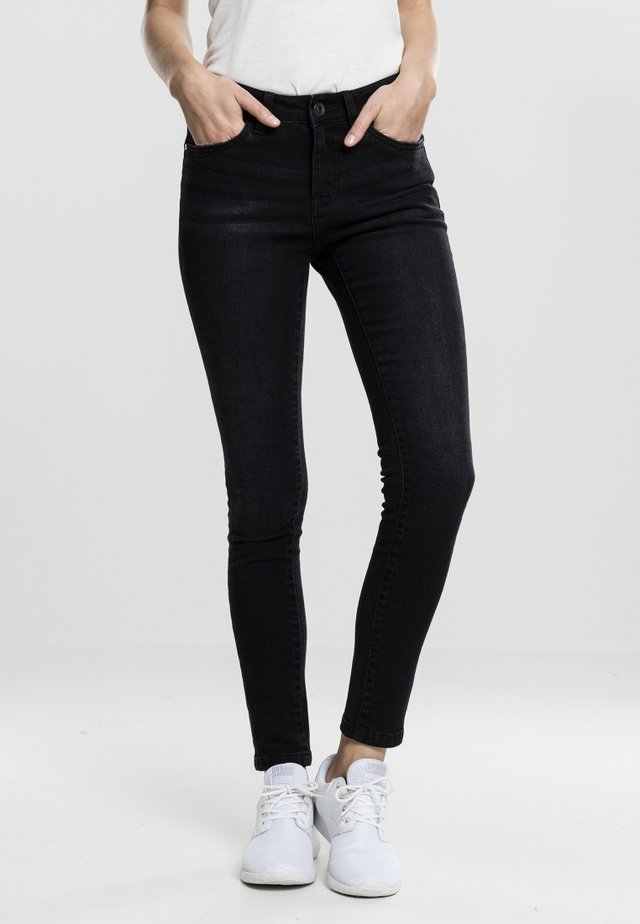 LADIES PANTS - Skinny džíny - black washed