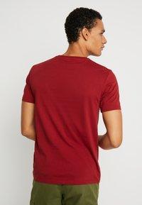 Benetton - Basic T-shirt - red - 2