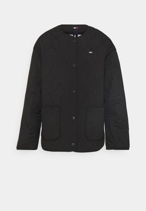 QUILTED LINER JACKET - Lett jakke - black
