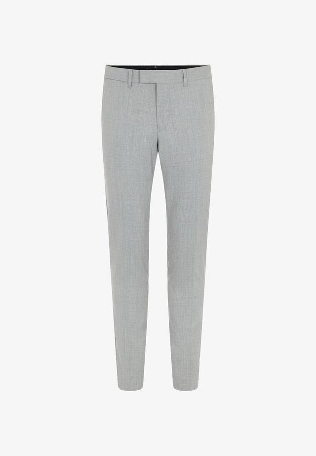Spodnie garniturowe - lt grey melange