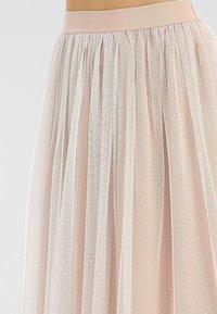 Apart - A-line skirt - creme-nude - 4