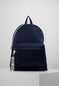 Tommy Jeans - LOGO TAPE BACKPACK - Rucksack - blue - 0
