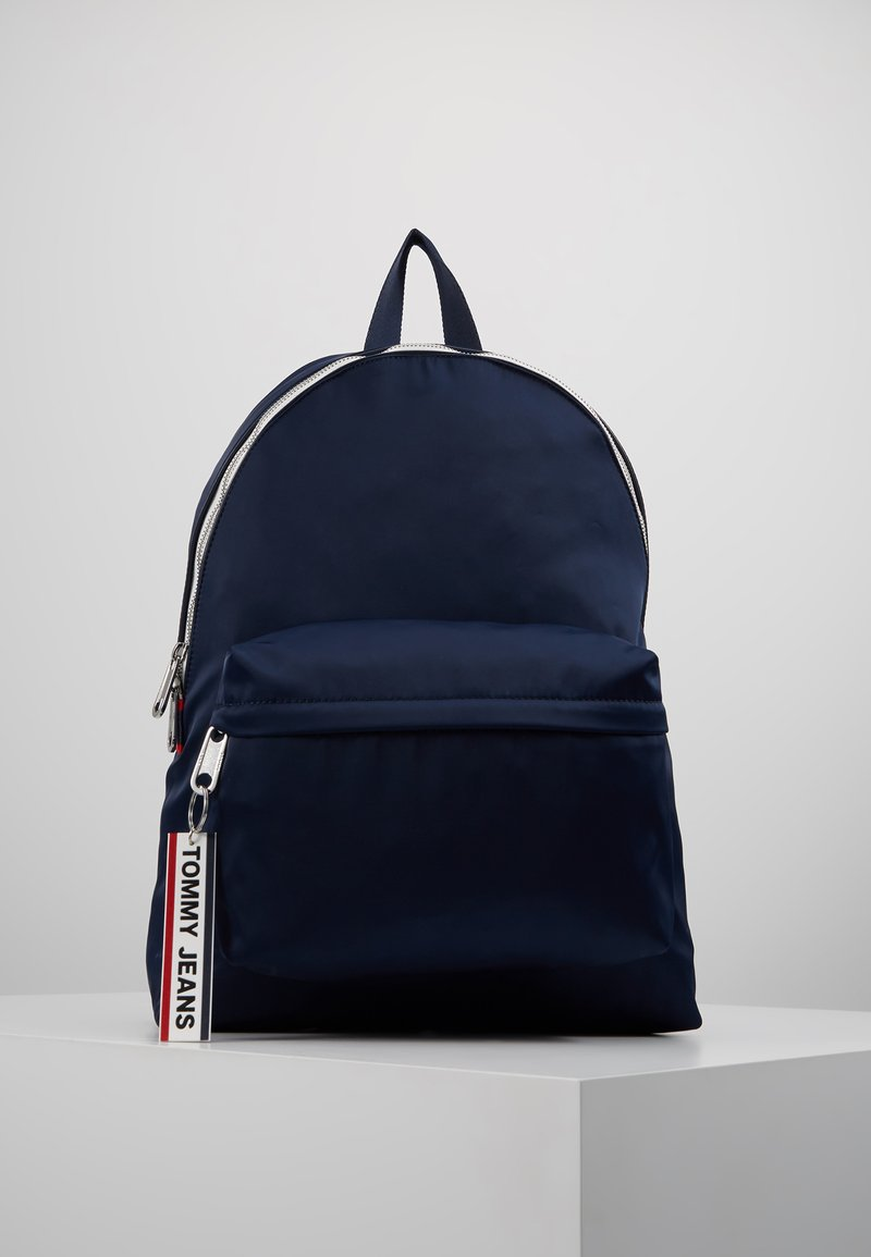 Tommy Jeans - LOGO TAPE BACKPACK - Rucksack - blue
