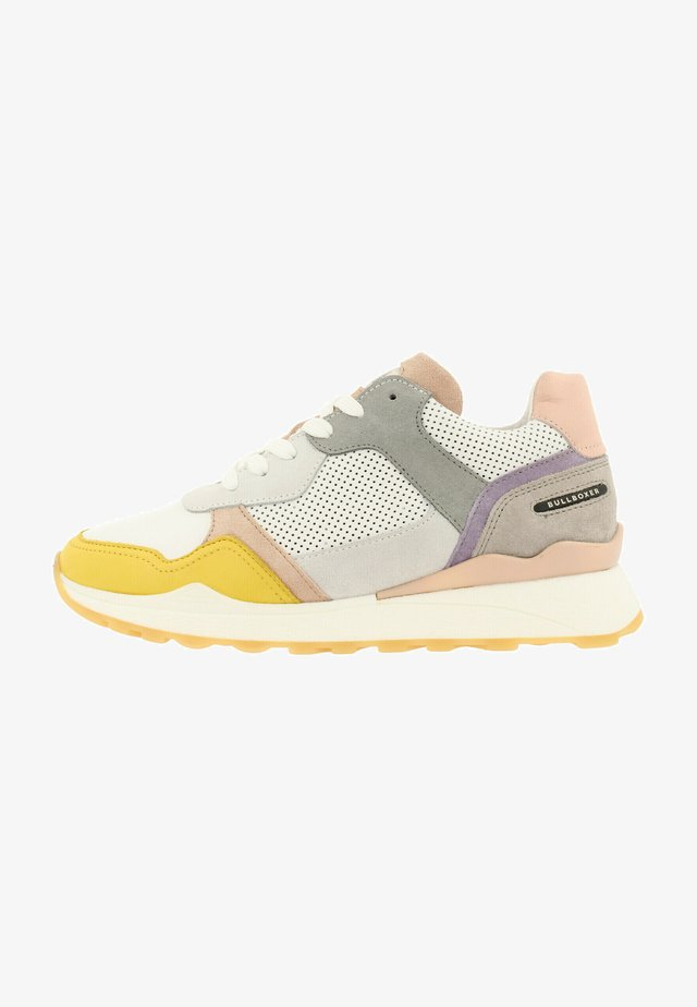 Sneakers laag - multi/yellow