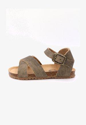 Sandals - caqui