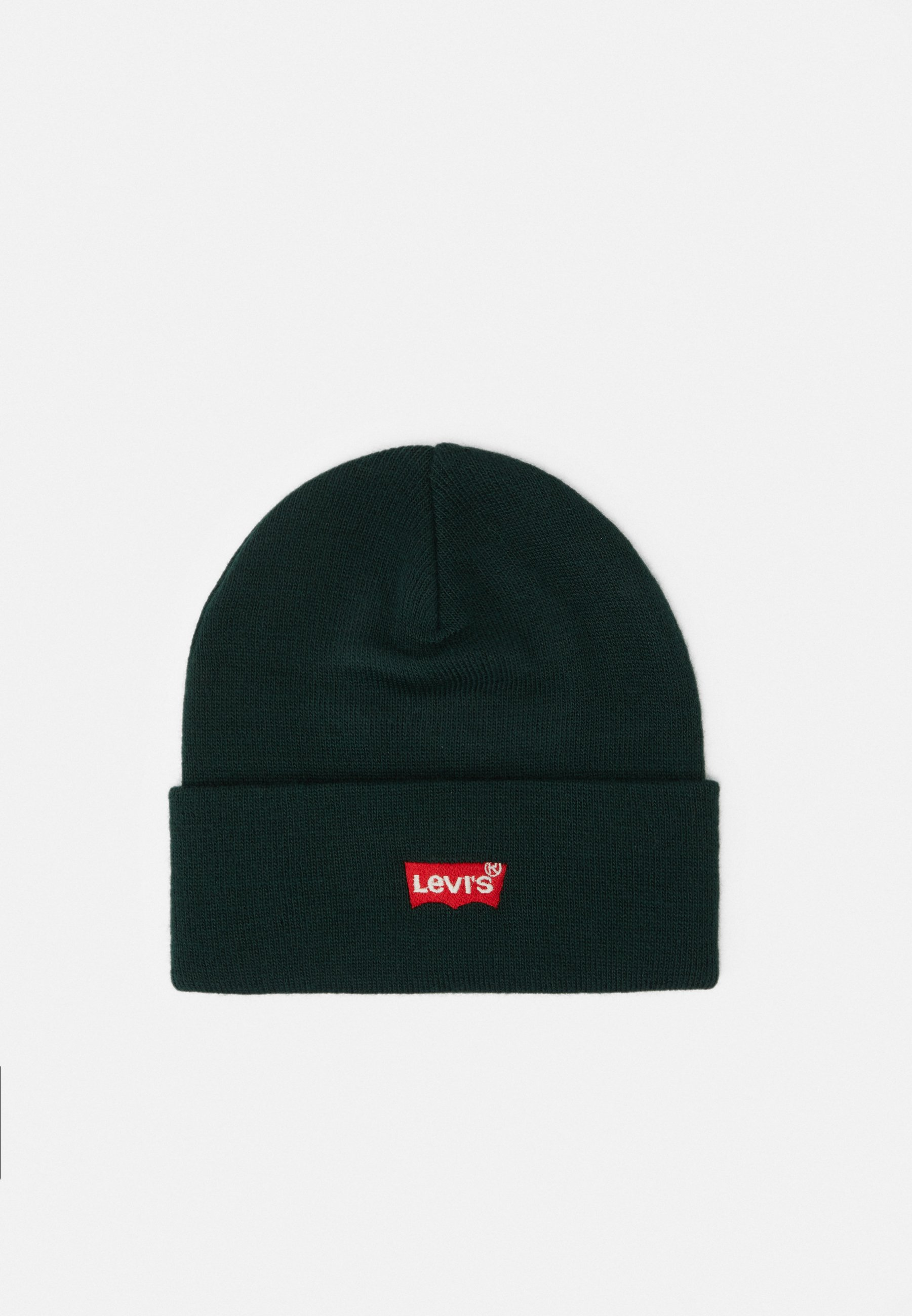 Levi's® Red Batwing Embroidered Slouchy Beanie - Mütze Navy Blue/dunkelblau