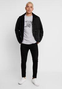 Diamond Supply Co. - DOWNTOWN SIGNATURE - Print T-shirt - heather grey - 1