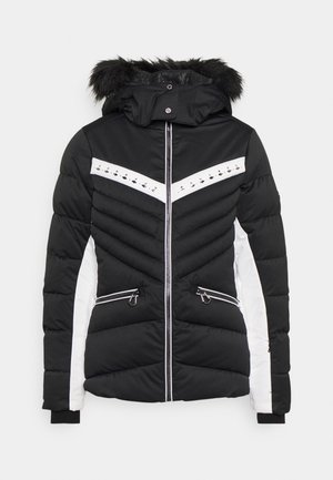 BEJEWEL II JACKET - Ski jas - black/white