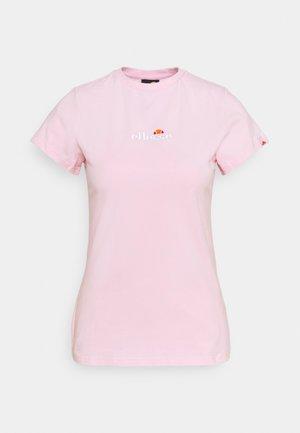 CI TEE - T-shirt basic - light pink