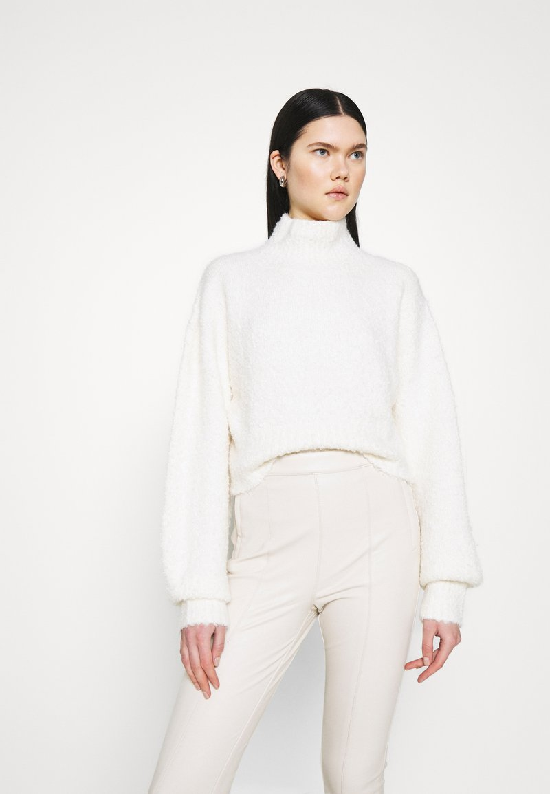 Monki - FIONA - Strickpullover - off white