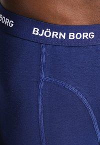 Björn Borg - SHORTS SOLIDS 3 PACK - Underkläder - blue depths - 3