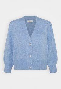 JDY - Cardigan - brunnera blue melange - 0