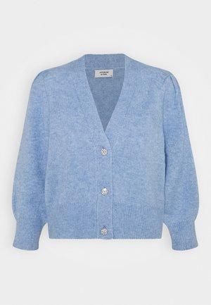 JDYAIDA BUTTONS CARDIGAN  - Cardigan - brunnera blue melange