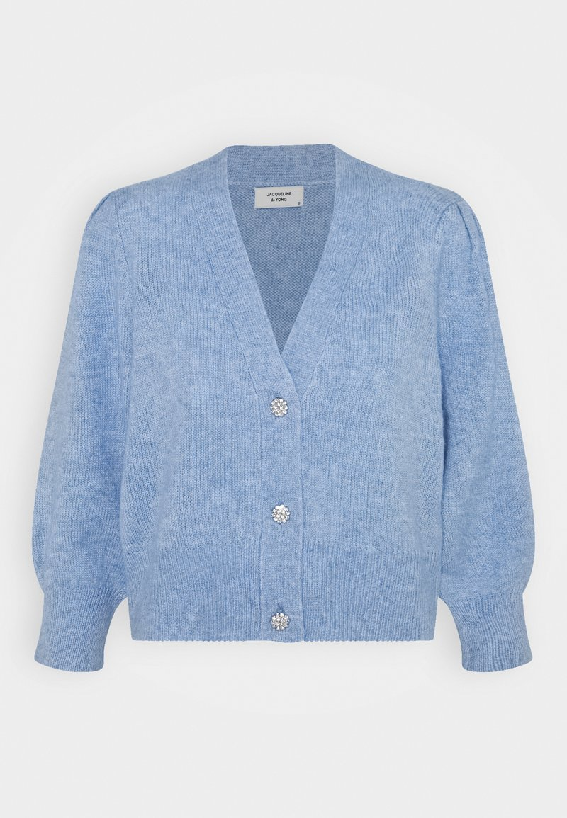 JDY - Cardigan - brunnera blue melange