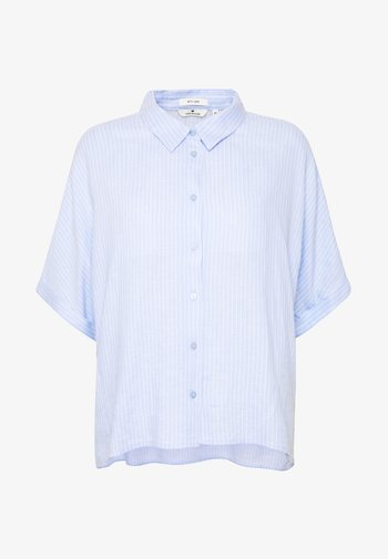 BLOUSE LOOSE SHAPE - Koszula - blue