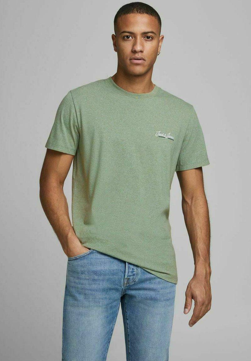 Jack & Jones - JORTONS TEE CREW NECK - Basic T-shirt - sea spray